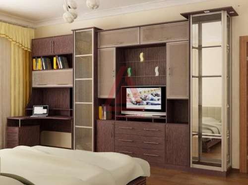 Шкафы-купе в спальню, фото